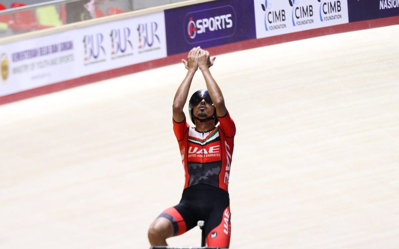Yousif Mirza achieves historic success at the Asian Track Championships