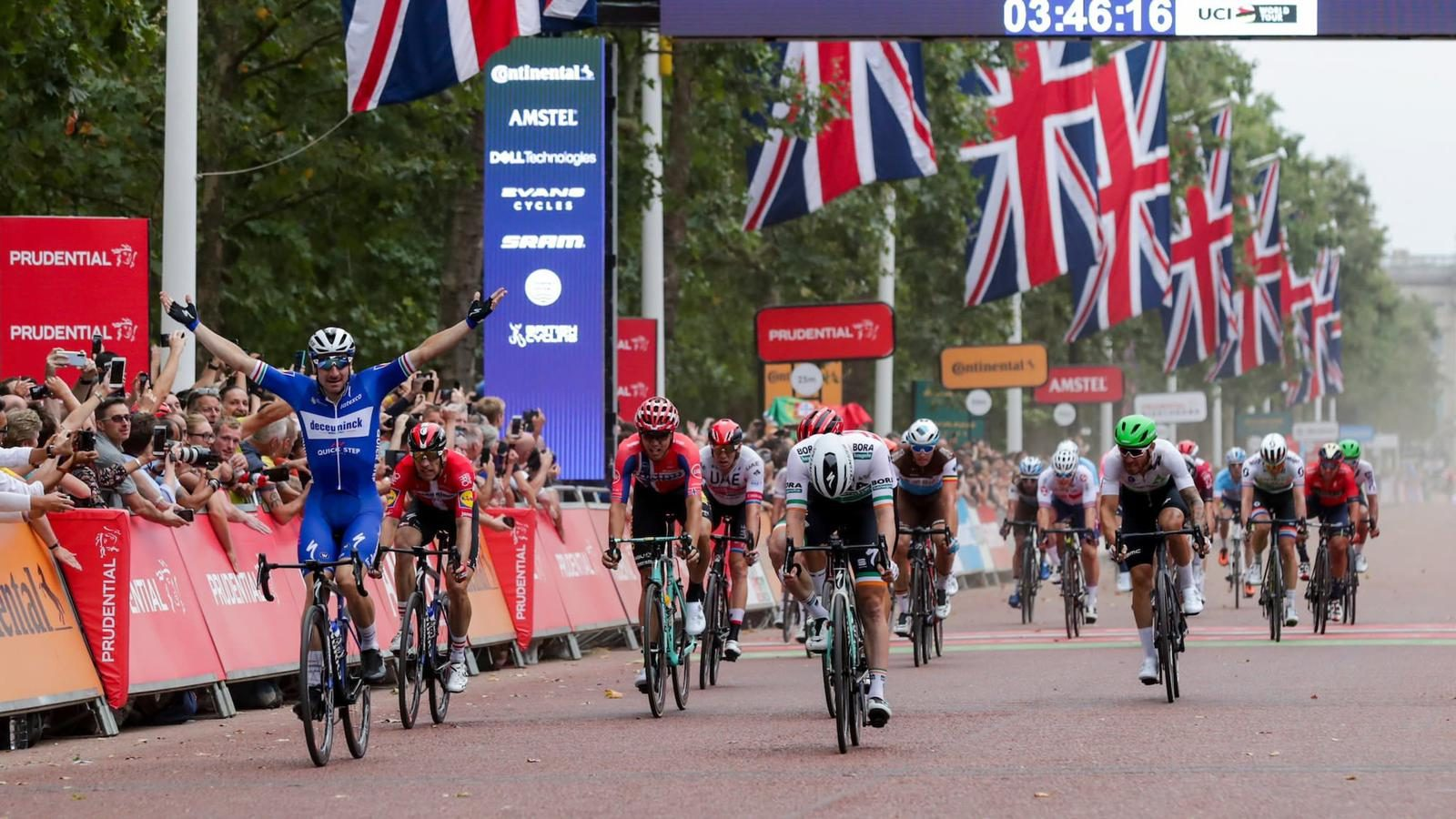 Kristoff seventh at the Prudential Ride London Classic - UAE team